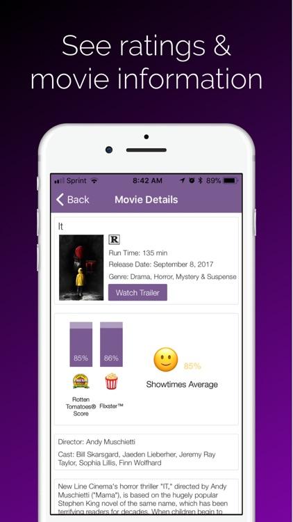 Showtimes - Movie Tickets screenshot-3