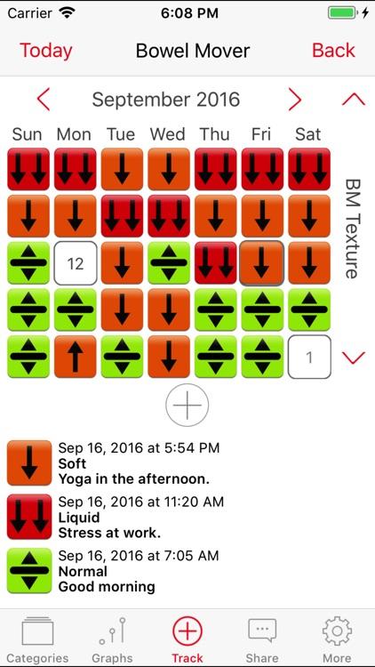 Bowel Mover Pro - IBS Tracker screenshot-3