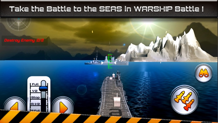 Warship Battle-Naval Attack 3D screenshot-3