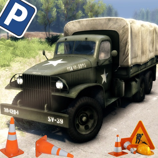 Army Truck Parking HD