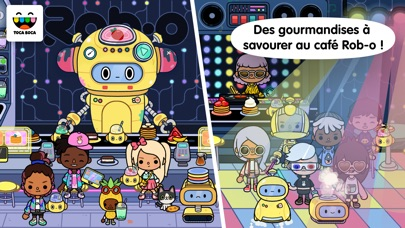 Screenshot for Toca Life: Neighborhood in France App Store