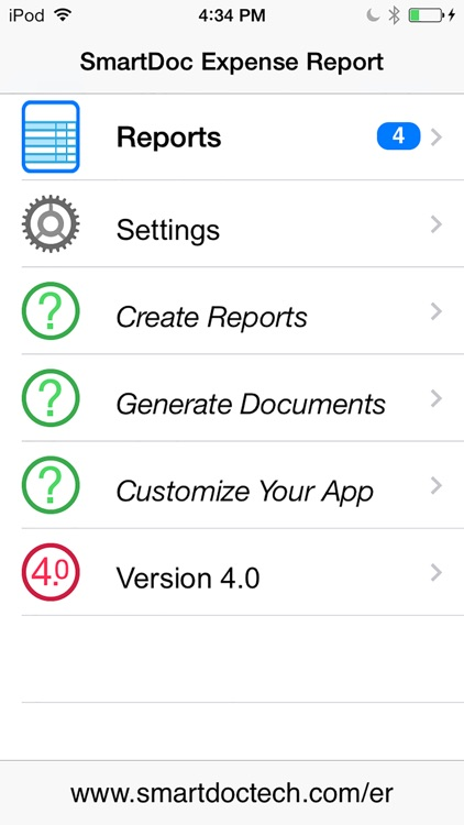 Expense Report for iPhone screenshot-3