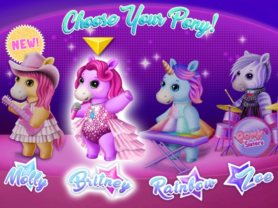 Pony Sisters Pop Music Band screenshot 10
