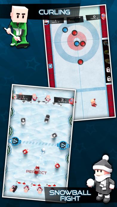Screenshot #3 pour Flick Champions Winter Sports