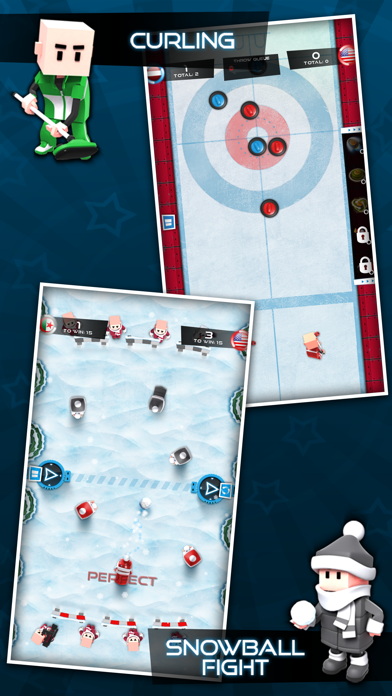 Screenshot #3 pour Flick Champions Winter Sports