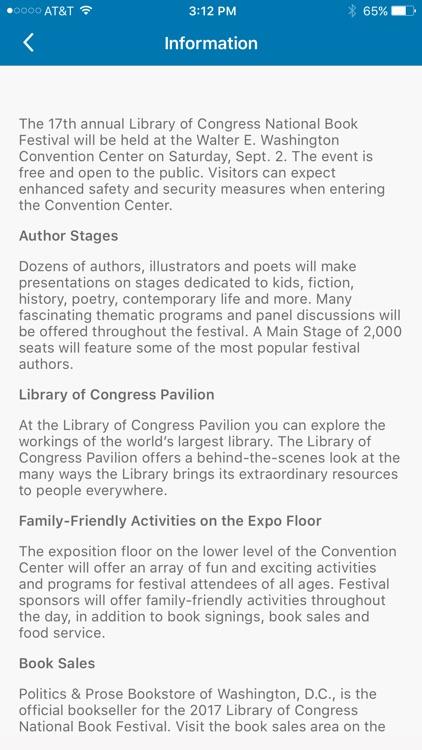 National Book Festival screenshot-4