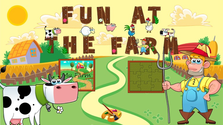 Fun At The Farm Learning Games