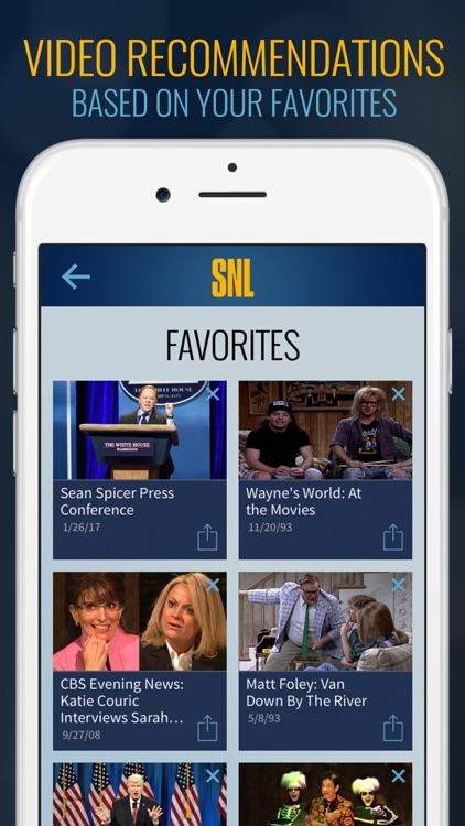 The SNL Official App on NBC screenshot-4