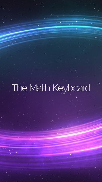 The Math Keyboard Screenshots