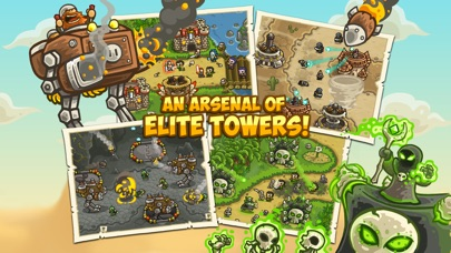 Screenshot for Kingdom Rush Frontiers in Australia App Store