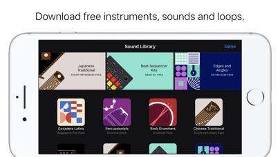 GarageBand Screenshot on iOS