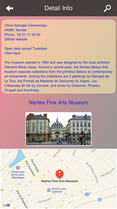 Nantes Tourism screenshot four