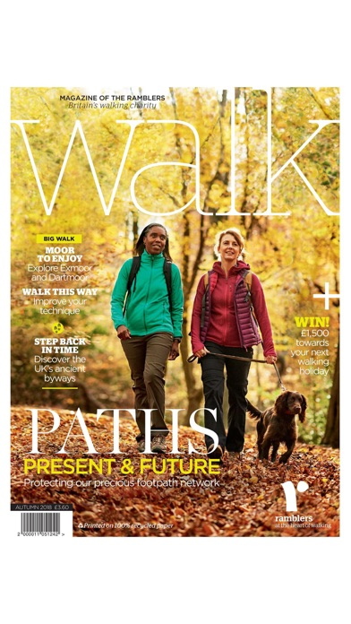 Walk Magazine review screenshots