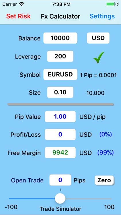 Forex Trade Calculator screenshot-0
