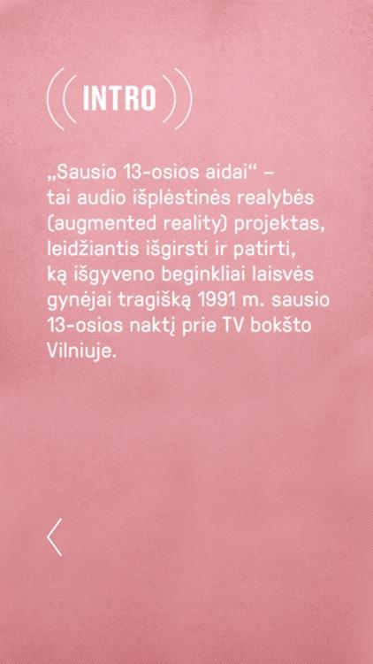 Sausio 13 aidai screenshot-6