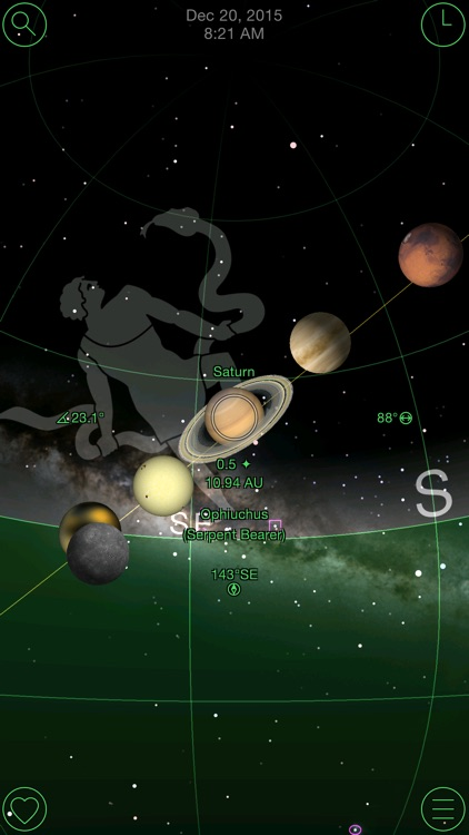 GoSkyWatch Planetarium - Astronomy Night Sky Guide screenshot-1