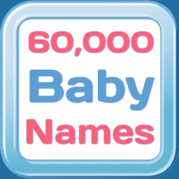 60,000 Baby Names Pro