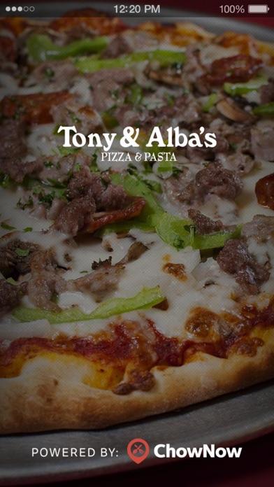 Tony & Albas Pizza & Pasta screenshot 1