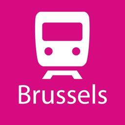 Brussels Rail Map