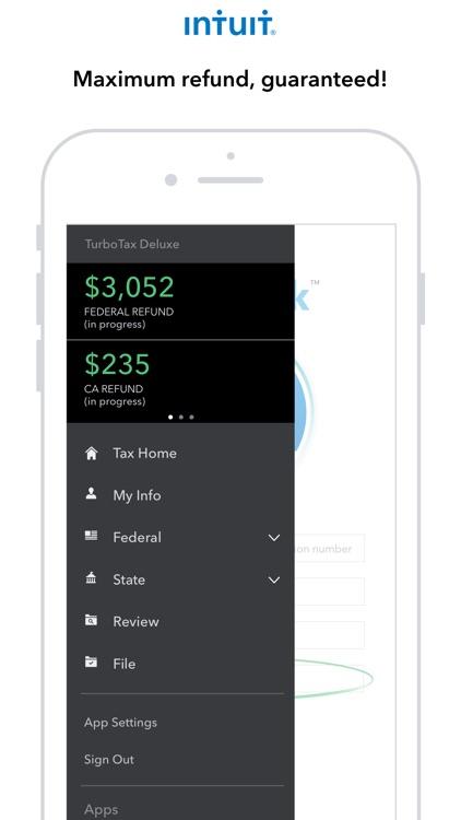 TurboTax Tax Return App screenshot-0