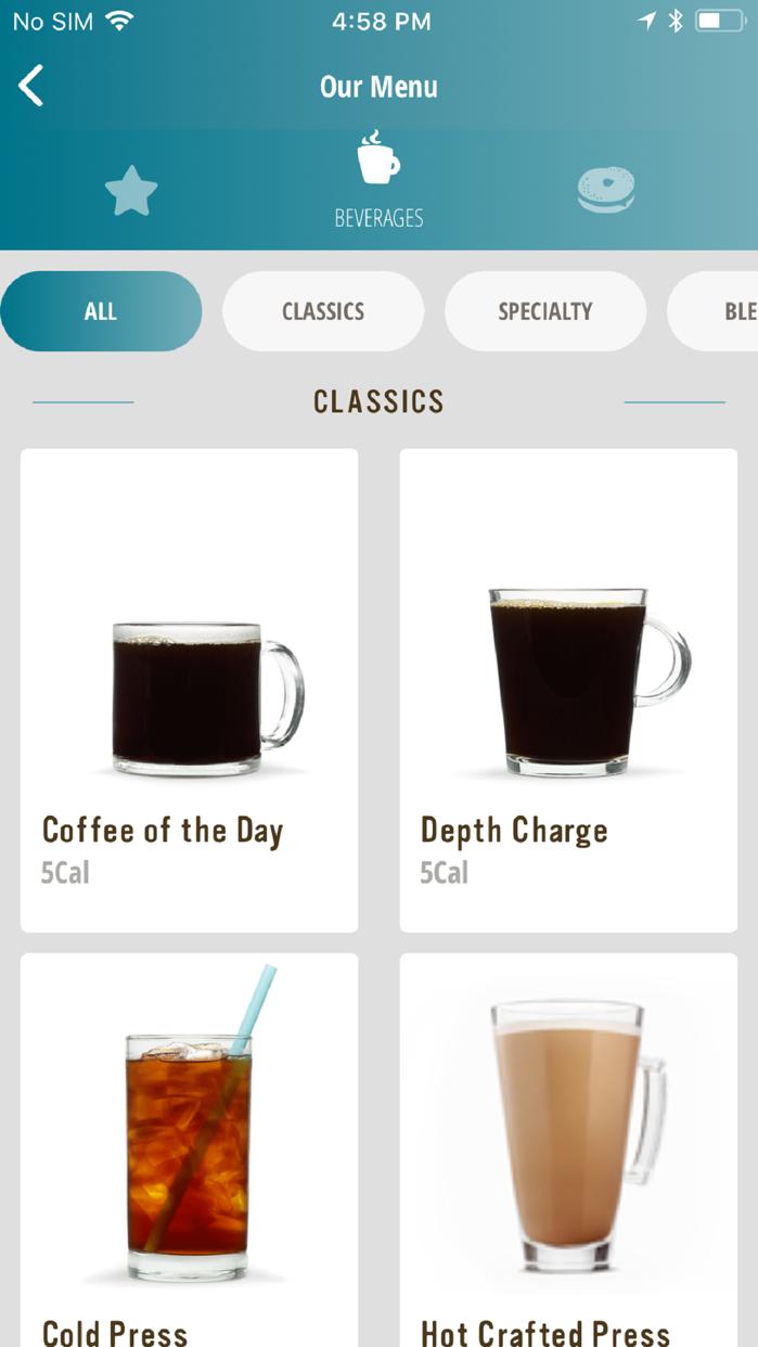 Caribou Coffee Screenshot