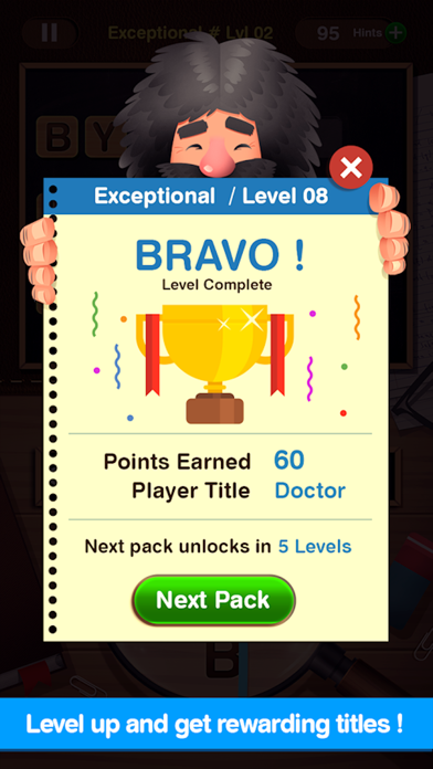 Word-stine: Brain Soup Games + screenshot four