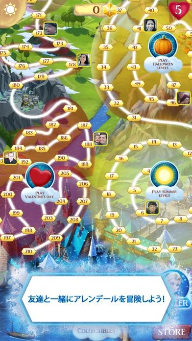 アナと雪の女王: Free Fallのスクリーンショット4