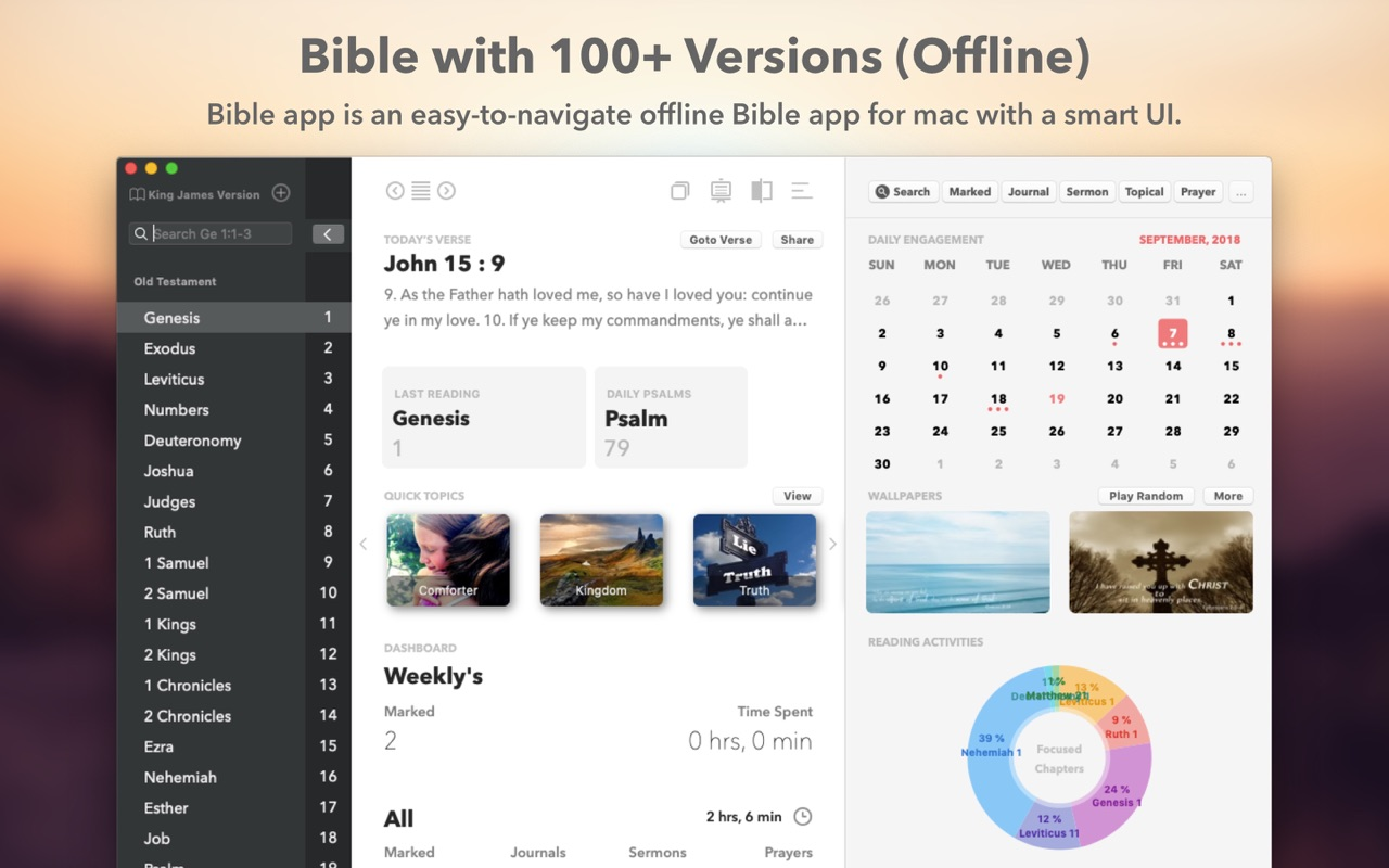 The Bible 4 9 – Easy-to-navigate offline Bible app