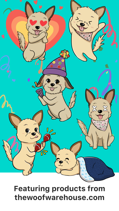 Descargar Dog Stickers by Woof Warehouse para Android