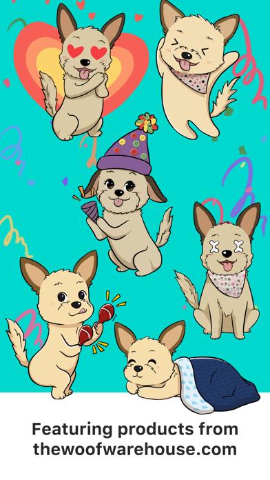 Dog Stickers by Woof Warehouse screenshot 2