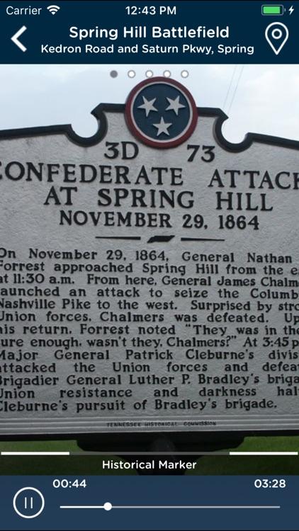Maury County Civil War Tour screenshot-4