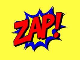 Zap Boom Pow Stickers
