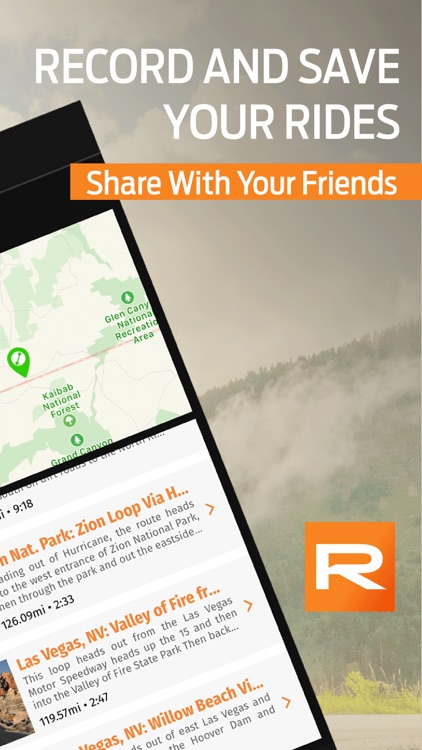 REVER: Motorcycle Routes & GPS screenshot-3