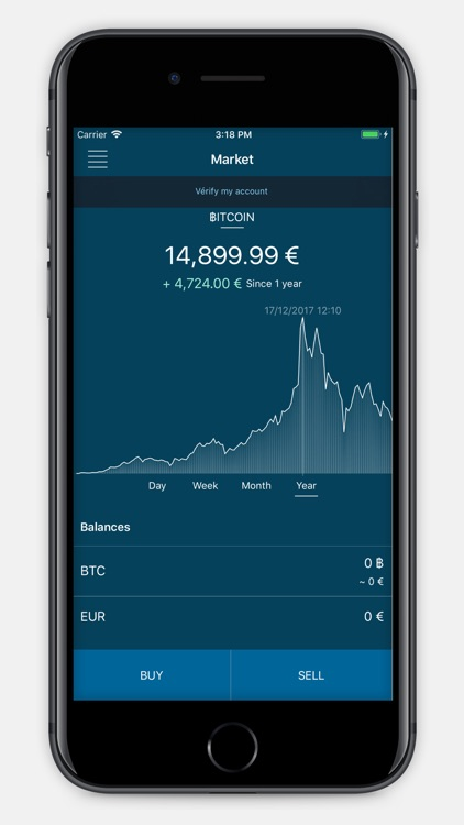 Paymium - Bitcoin Platform screenshot-0