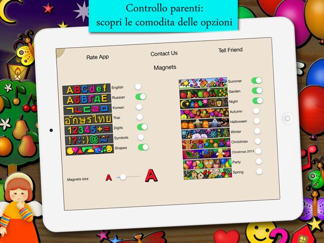 Alfabeto Magnetico Parlante Screenshot