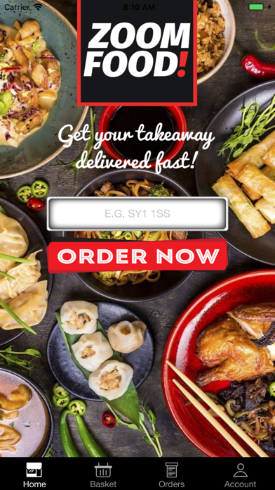 Zoom Food: Order Food Delivery screenshot one