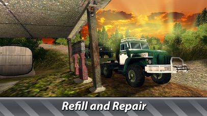 Cargo Trucks Offroad Driving screenshot 4