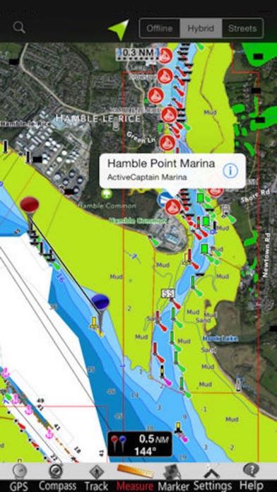 Screenshot of Isole Egadi GPS Carta Nautica1