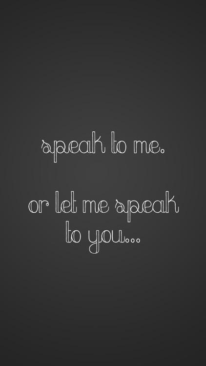 please dont let go.