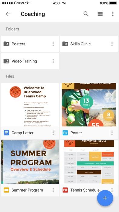 Google Drive – хранилище Скриншоты3