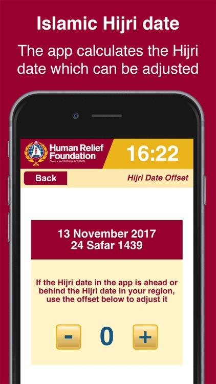 HRF Prayer Times screenshot-4