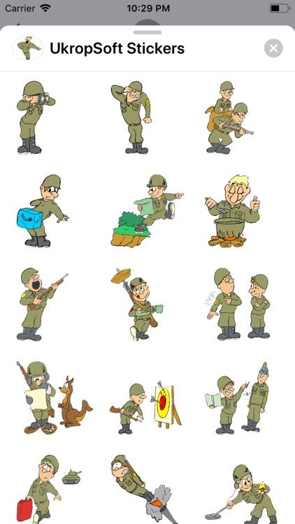 UkropSoft Stickers