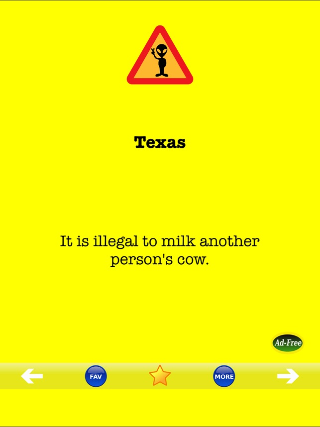 Dumb Laws In Texas >> America S Weird Stupid Laws On The App Store