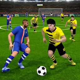 David Villa Playing Soccer
