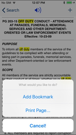 nypd patrol guide 2013 on the app store rh itunes apple com Admin Guide nypd administrative guide online