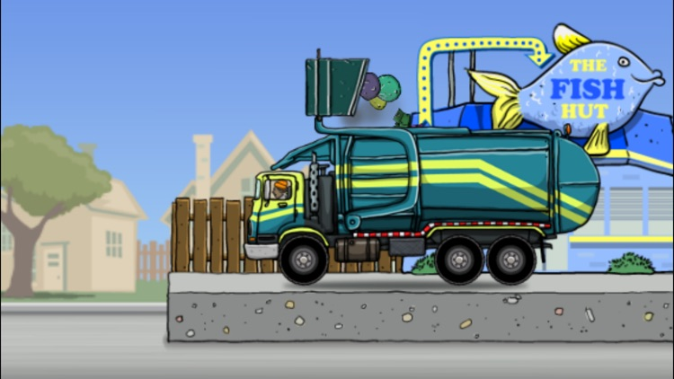 Garbage Truck: Dumpster Pick Up screenshot-4