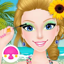 Seaside Spa Salon-girls games