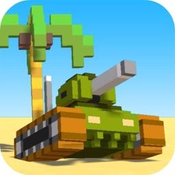 Cube Tank Shooting: War Hero