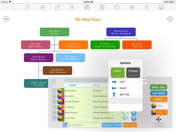 Org Chart Maker screenshot-4