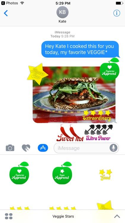 Veggie Stars - Rate your food